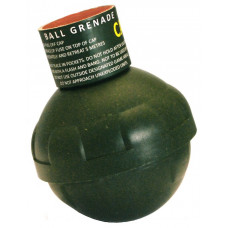 Byotechnics ® Ball Grenade, Friction Fuse, Pea Fill